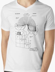 Slinky Patent 1947 Mens V-Neck T-Shirt
