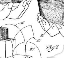 Slinky Patent 1947 Sticker
