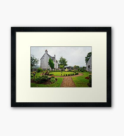 Easter Elchies house - The MacAllan Framed Print