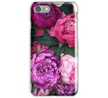Pink/Purple Flowers iPhone Case/Skin