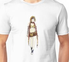 Final Fantasy X Rikku Fashion Sketch Unisex T-Shirt