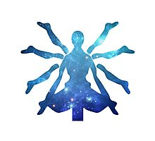 Zenyatta Logo - Galaxy Photographic Print
