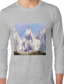 radieuses Aiguilles de Chamonix Long Sleeve T-Shirt