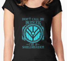 i'm a shieldmaiden Women's Fitted Scoop T-Shirt