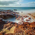 Red Rocks Beach #3 by Bette Devine