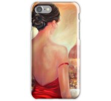 EVENING IN FLORENCE iPhone Case/Skin