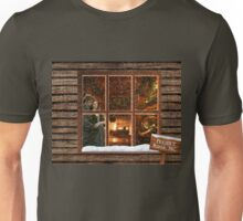 Frasers Ridge cabin window Unisex T-Shirt