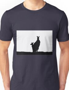 Kangaoo Silhouette Unisex T-Shirt