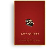 City Of God - Minimalist Movie Poster Canvas Print