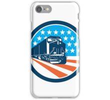 Diesel Train American Stars Stripes Retro iPhone Case/Skin