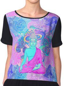 Trippy Buddha Chiffon Top