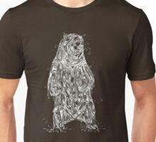 Bearing the Weight of Being a Bear White Unisex T-Shirt