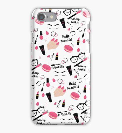 Makeup Junkie IV iPhone Case/Skin