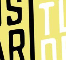 Hustle Harder Sticker