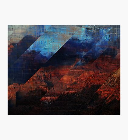 Deconstructing Time Altered Landscapes Grand Canyon Photographic Print