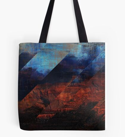 Deconstructing Time Altered Landscapes Grand Canyon Tote Bag