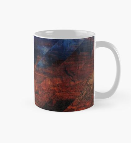 Deconstructing Time Altered Landscapes Grand Canyon Mug