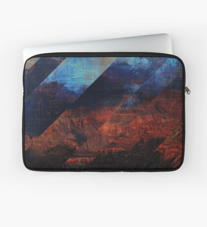 Deconstructing Time Altered Landscapes Grand Canyon Laptop Sleeve