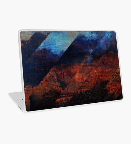 Deconstructing Time Altered Landscapes Grand Canyon Laptop Skin