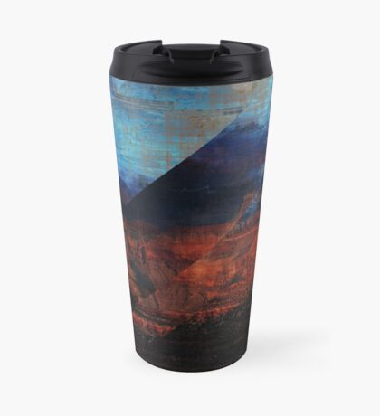 Deconstructing Time Altered Landscapes Grand Canyon Travel Mug