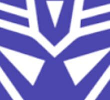 Tranformers,Decepticon Symbol Sticker