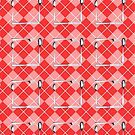 Cutlery Chevron (Pink) by ezcreative
