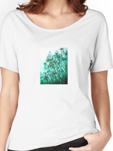 Fairy Flowers  Women's Relaxed Fit T-Shirt