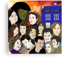 A time lords family Metal Print