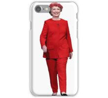 Hillary Clinton Red Flower Crown iPhone Case/Skin