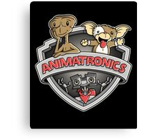 Animatronics Canvas Print