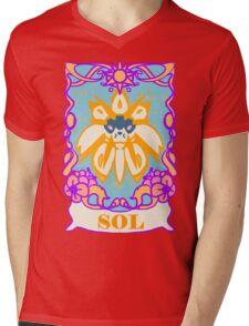 El Sol Mens V-Neck T-Shirt
