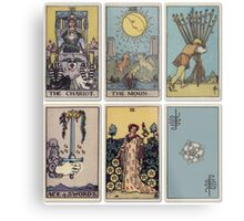 6 Tarot Card Metal Print