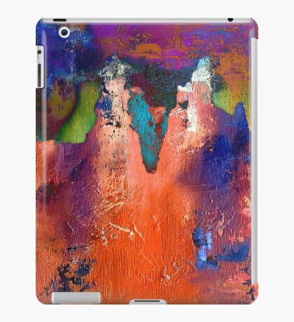 Altered Abstract Southwestern Colors Landscape iPad Case/Skin