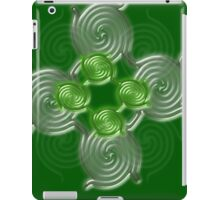 Green Abstract  pattern  3145 Views) iPad Case/Skin