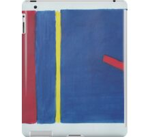 LINE AND COLOUR 2 iPad Case/Skin