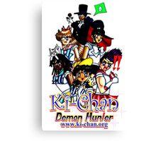 Sailor Ki-Chan Parody Canvas Print