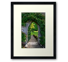 """When You Beckon, I Will Follow... You Need Only Lead The Way...""   Framed Print"