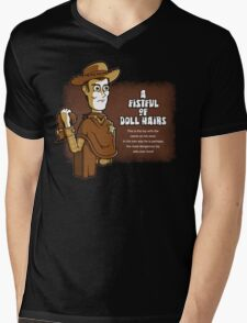 A Fistful of Doll Hairs Mens V-Neck T-Shirt