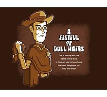 A Fistful of Doll Hairs Photographic Print