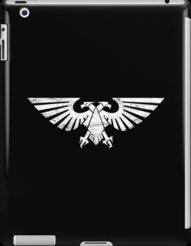 Warhammer 40k Aquila symbol (white) by groger