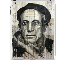 old book drawing famous people picasso bablo iPad Case/Skin