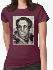old book drawing famous people picasso bablo Womens Fitted T-Shirt