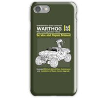 Warthog Service and Repair Manual iPhone Case/Skin