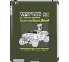 Warthog Service and Repair Manual iPad Case/Skin