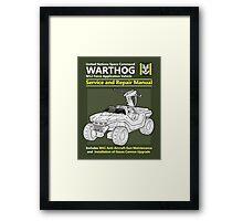 Warthog Service and Repair Manual Framed Print