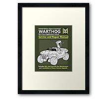 Warthog Service and Repair Manual Framed Print