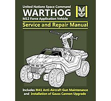 Warthog Service and Repair Manual Photographic Print