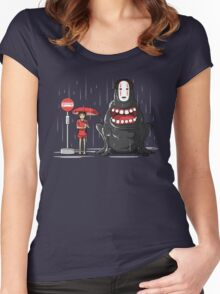 My Hungry Neighbor Women's Fitted Scoop T-Shirt