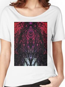 SKULL TREE GALAXY LIGHT Women's Relaxed Fit T-Shirt