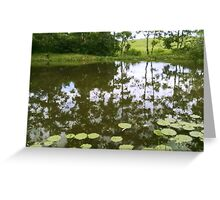 Stillness above and below Greeting Card